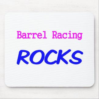 石を競争させるバレル マウスパッド