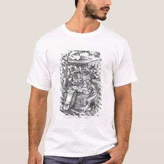 石カッター Tシャツ