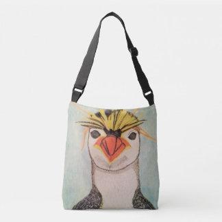 石ホッパーペンギンのバッグ クロスボディバッグ