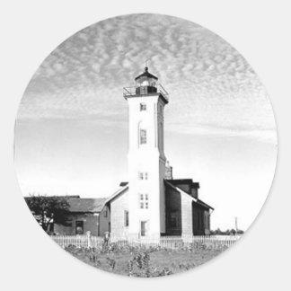 石ポイント灯台 ラウンドシール