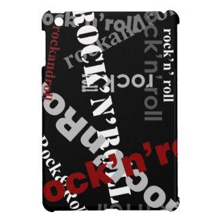 石及びロールタイポグラフィのデザイン iPad MINI カバー