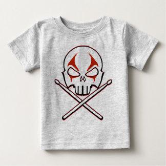 石及びロールベビーのワイシャツの重金属のベビーの石のワイシャツ ベビーTシャツ