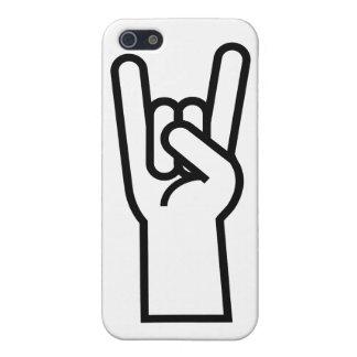 石及びロール手の記号 iPhone 5 ケース
