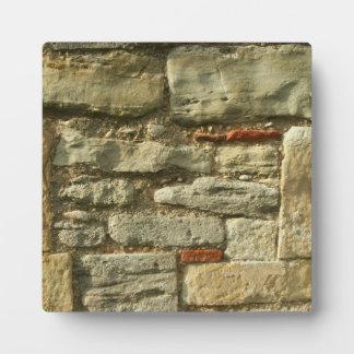石塀のイメージ フォトプラーク