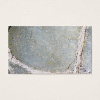 石塀の写真 名刺