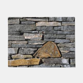 石塀 ドアマット