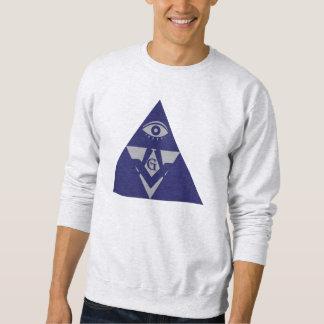 石大工のピラミッド スウェットシャツ