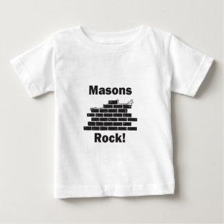 石大工の石 ベビーTシャツ