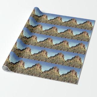 石山の頂上 ラッピングペーパー