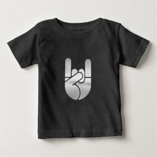 石手の鋼鉄 ベビーTシャツ