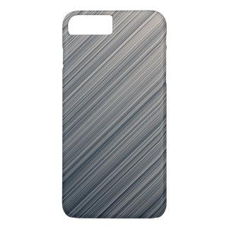 石板およびクリームのストライプ iPhone 8 PLUS/7 PLUSケース