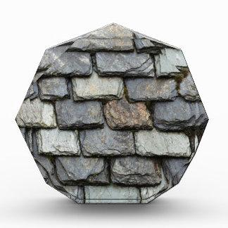 石板のプレートが付いている屋根カバー 表彰盾
