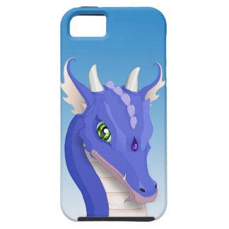石板の青のドラゴン iPhone SE/5/5s ケース