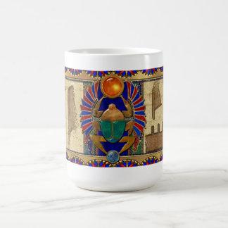 石棺3Dのエジプト人 コーヒーマグカップ