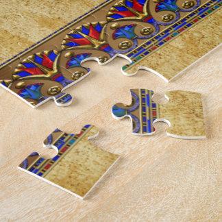 石棺3Dのエジプト人 ジグソーパズル