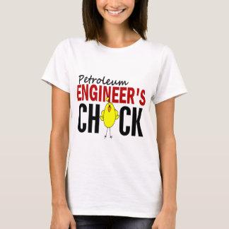 石油エンジニアのひよこ Tシャツ