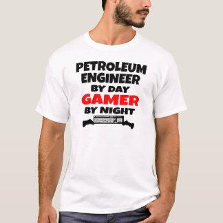 石油エンジニアのゲーマー Tシャツ