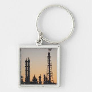 石油化学工場 キーホルダー