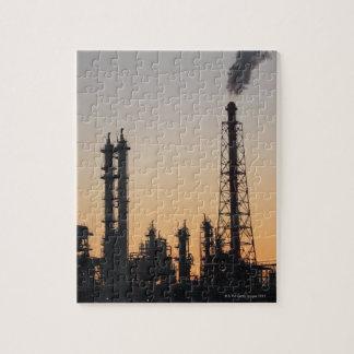 石油化学工場 ジグソーパズル