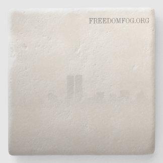 石灰岩のコースター-自由の霧 ストーンコースター