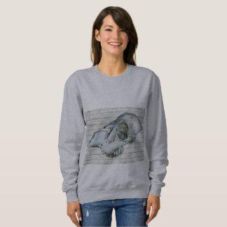 石灰水のスカルのスエットシャツ スウェットシャツ