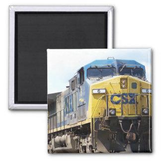 石炭の列車とのCSXの鉄道AC4400CW #6 マグネット