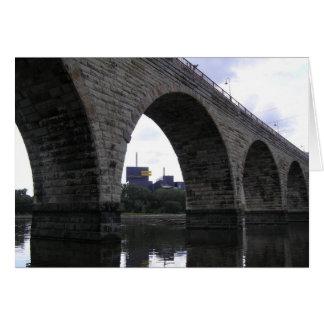 石造りのアーチ橋 カード