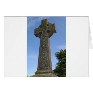石造りのケルト十字 カード