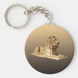 石造りのライオン キーホルダー