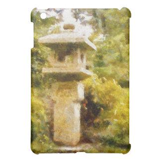 石造りのランタンの庭 iPad MINIケース