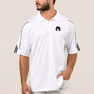 石造りの乗組員のロゴのアディダスのゴルフポロ ポロシャツ