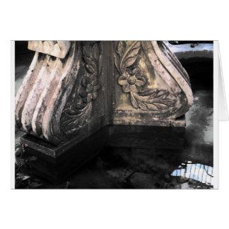石造りの噴水 カード
