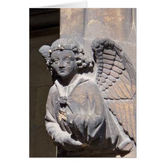 石造りの天使カード カード