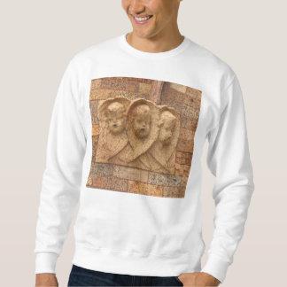 石造りの市民3人の花こう岩の乳児 スウェットシャツ