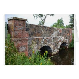 石造りの排水渠 カード