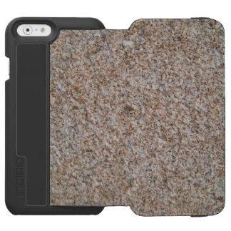 石造りの携帯電話の箱 iPhone 6/6Sウォレットケース