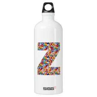 石造りの散りばめられたアルファZZZ z ZZの誕生日プレゼントを宝石で飾って下さい ウォーターボトル