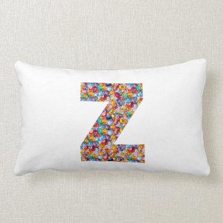 石造りの散りばめられたアルファZZZ z ZZの誕生日プレゼントを宝石で飾って下さい ランバークッション
