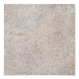 石造りの石の大理石のTravertineの自然の背景 ポスター