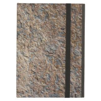 石造りの石板の石の質 iPad AIRケース