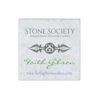 石造りの社会の大理石の(石造りの)磁石 ストーンマグネット