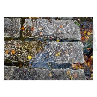 石造りの細道 カード