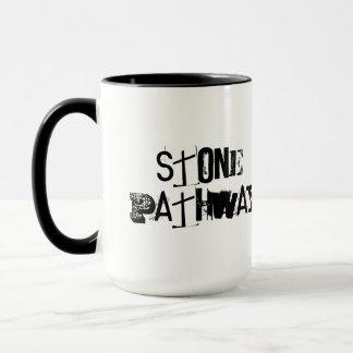 石造りの細道 マグカップ
