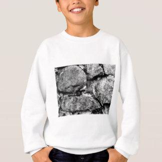 石造りの顔 スウェットシャツ