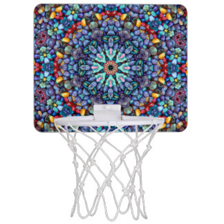 石造りの驚異の小型バスケットボールバスケ ミニバスケットボールネット