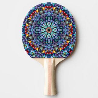 石造りの驚異の赤いゴム背部卓球ラケット ピンポンラケット