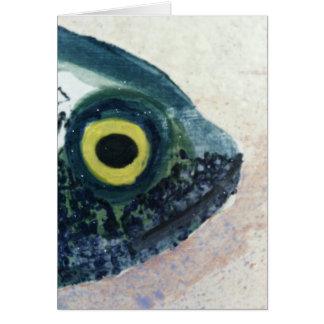 石造りの魚 カード