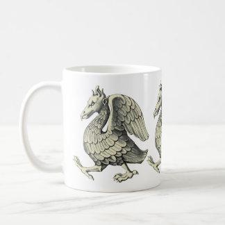 石造りの鳥 コーヒーマグカップ