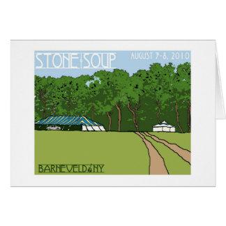 石造りスープNotecard カード