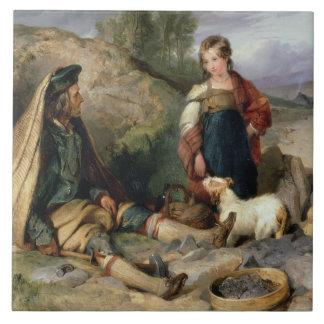 石造りブレーカおよび彼の娘1830年 タイル